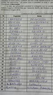 lista civica 1