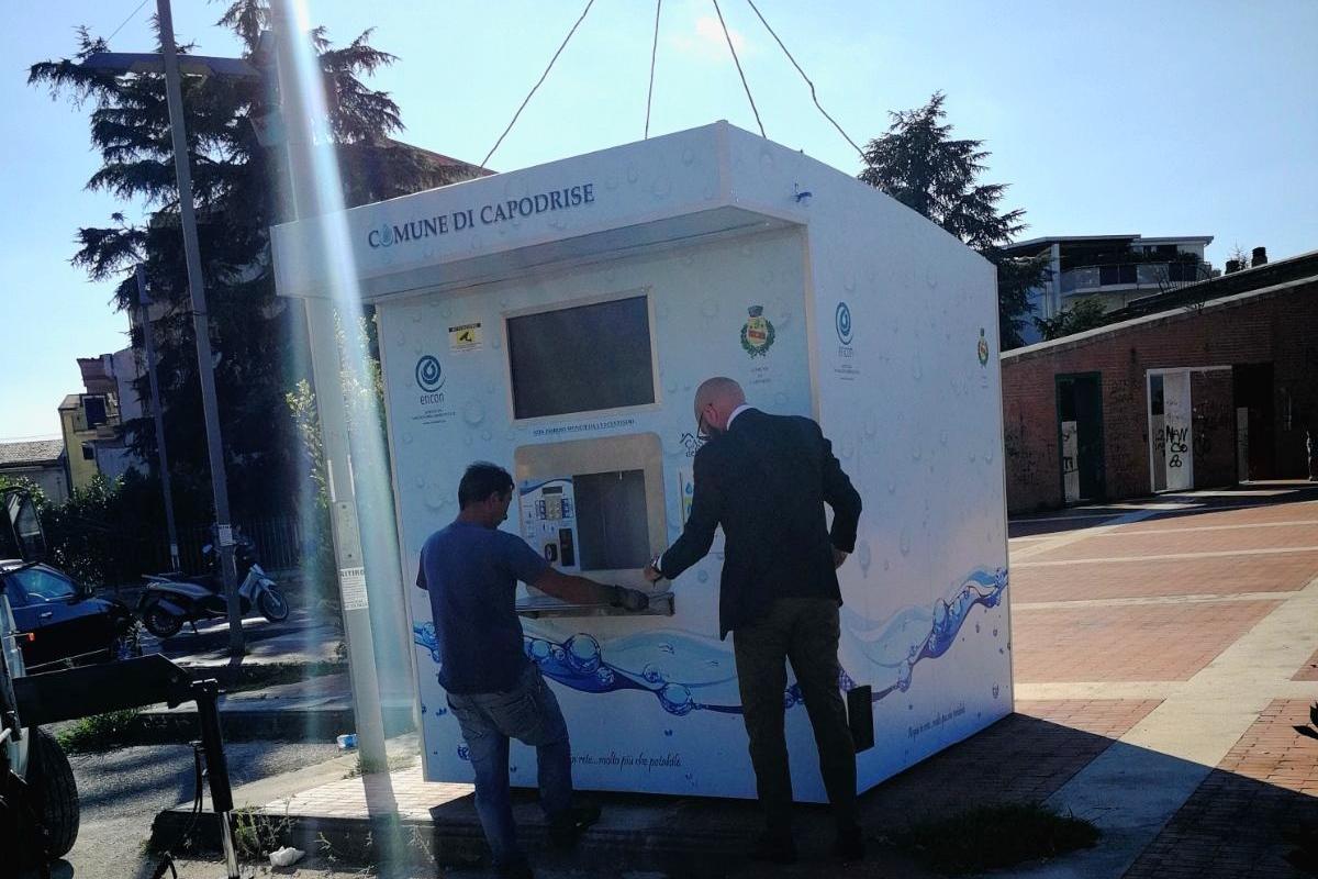 """Capodrise, il 26 luglio il sindaco Crescente inaugura la """"Casa dell'Acqua"""" — Il blog di Michele ..."""